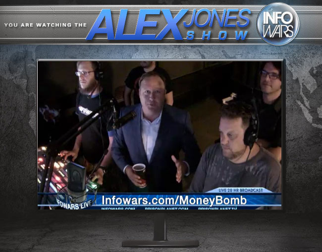 2015 Infowars Money Bomb